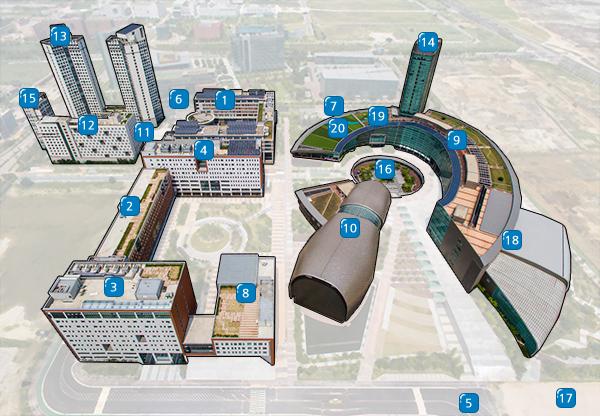 IGC Incheon Global Campus - Campus Facilities > Virtual Tour